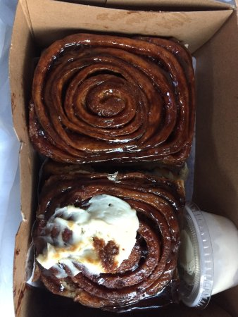 Only cinnamon buns that taste great without cream cheese frosting!