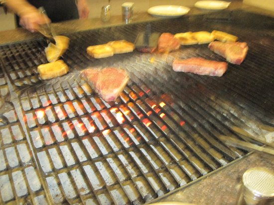 Escanaba, MI: grilling - also get garlic toast with meal