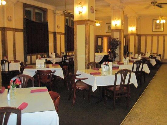 Escanaba, MI: restaurant decoration