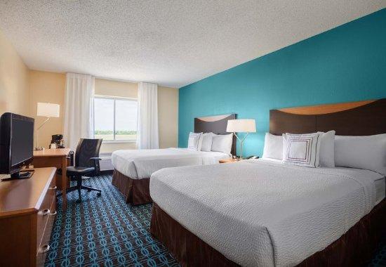 Texas City, TX: Queen/Queen Guest Room