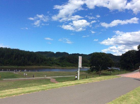Hitachiomiya, Japan: 河原側のテントでは焼きとうもろこしが美味しく食べられました!