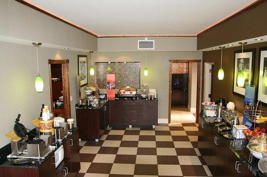 ซอเมอร์เซ็ต, เพนซิลเวเนีย: Breakfast Serving Area