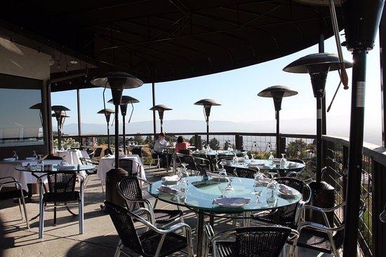 Mount Hamilton Grandview Restaurant Vistão Da Varanda