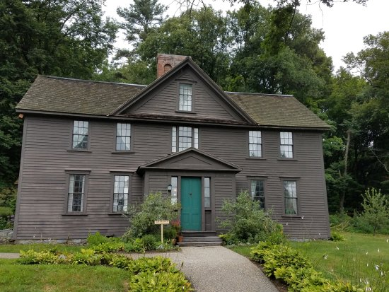 Exterior of the Orchard House.