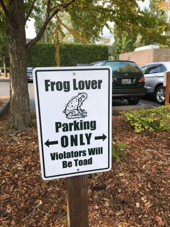 Woodinville, WA: Parking