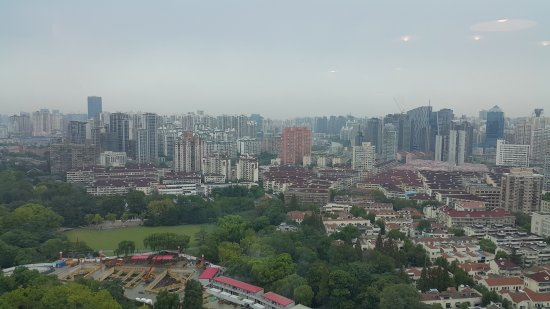 New World Shanghai Hotel: The view is good and comfortable.