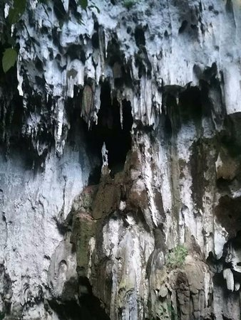 Hindang Caves & Wild Monkeys: The cave's exterior.