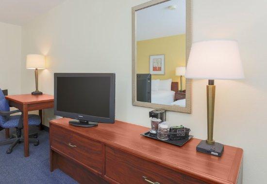 เบย์ซิตี, มิชิแกน: Queen/Queen Guest Room Amenities