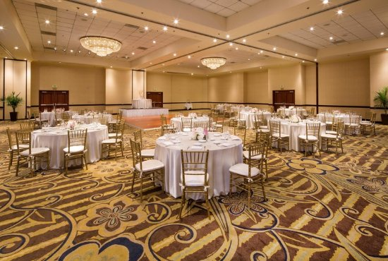 DoubleTree by Hilton Hotel Santa Ana - Orange County Airport: Banquet room