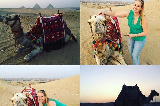 ride camel sunrise or sunset