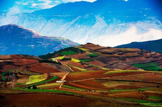 2 días del tour Dongchuan Red Land