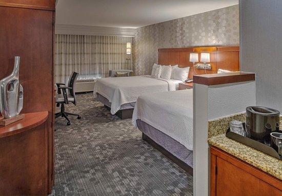 ออเรนจ์พาร์ค, ฟลอริด้า: Queen Queen Guest Room