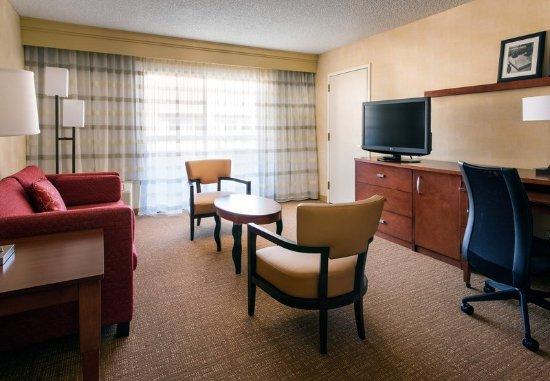 Pleasanton, CA: Suite - Living Area