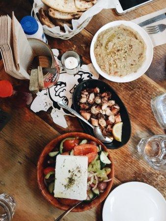 Photo of Mediterranean Restaurant Kiki's at 130 Division St, New York City, NY 10002, United States