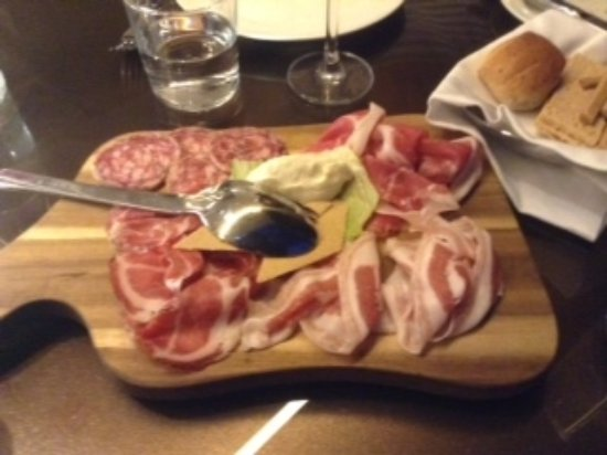 Mogliano Veneto, Italia: Salumi Platter
