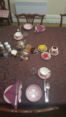 Queenstown, Australie : Breakfast Set up