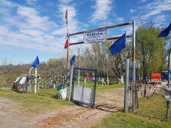 Ceibas, Argentinien: Entrada desde la RN 12 km 129 mano hacia Zarate