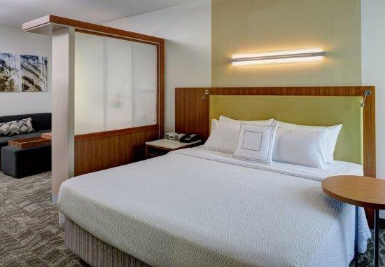 Saginaw, MI: King Studio Suite - Sleeping Area