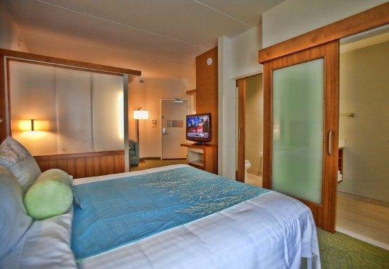 Rosenberg, TX: King Suite Sleeping Area