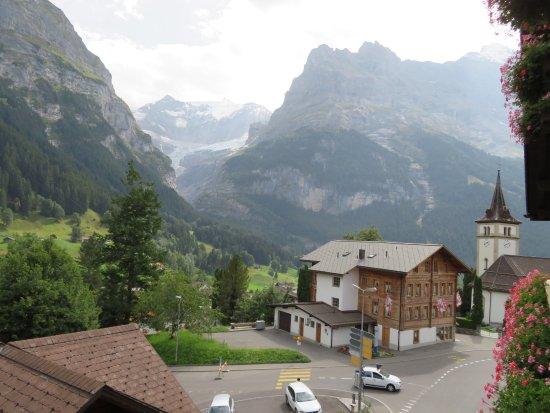 Hotel Gletschergarten: View from the 3rd floor room balcony