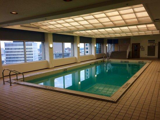 Pool Area On The 21st Floor Picture Of Fairmont Winnipeg