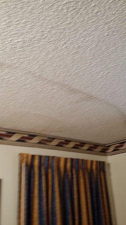 Howard Johnson Express Inn Savannah GA: Room smelled like mold this is why!