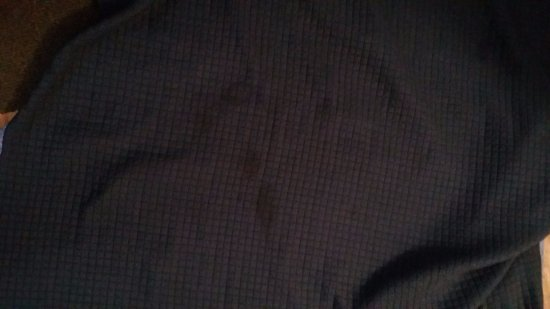 Howard Johnson by Wyndham Savannah GA: blood stains on cover