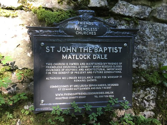 Matlock Bath, UK: St John the Baptist Church Matlock Dale