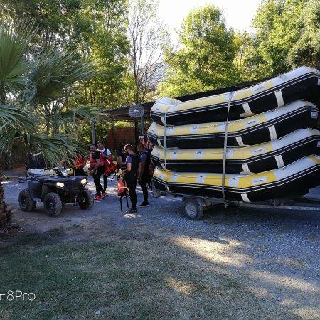 Orsomarso, Italia: Rafting Explorer Lao