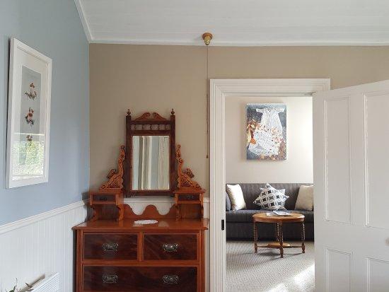 Naseby, Nueva Zelanda: Parkers room lounge