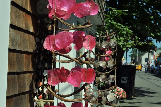 Rockport, MA : the shell ware outside of a gift shop