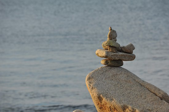 Rockport, MA: rock stack