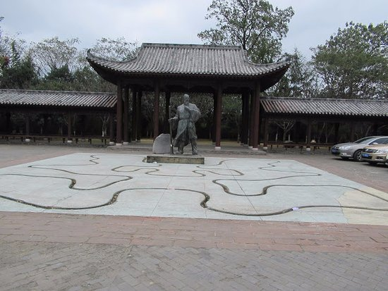 Ganzhou, China: 八境文化街