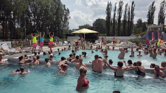 Poprad, Slovakia: Aquagym