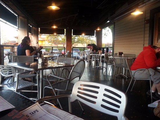 Brick House Tavern U0026 Tap: Patio Dining Area