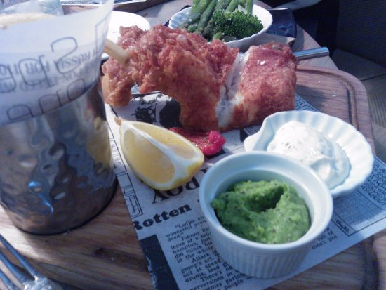 Teignmouth, UK: the fish and chips