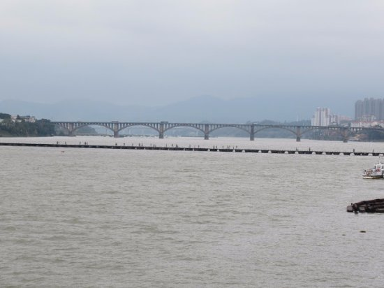 Ganzhou, China: 古浮橋