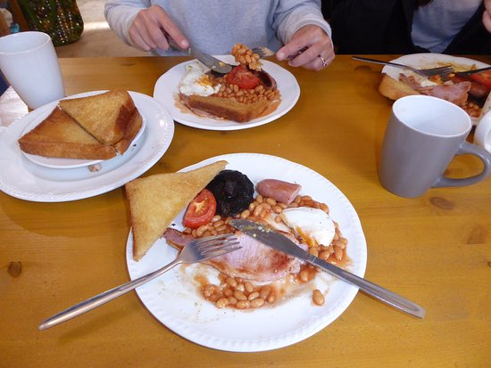 Church Stretton, UK: Fry up