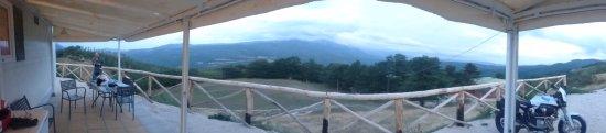 Accumoli, อิตาลี: Panoramica dal bungalow