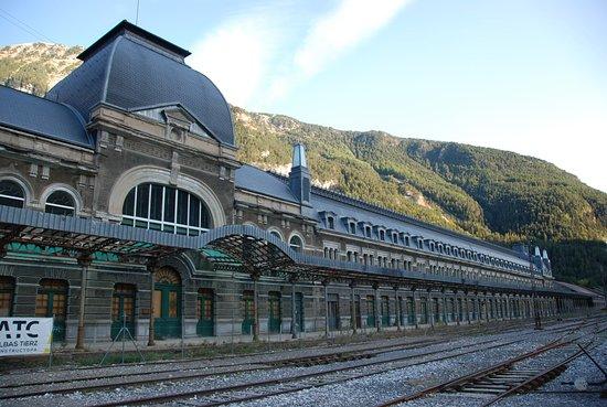 Gare Internationnale de Canfranc
