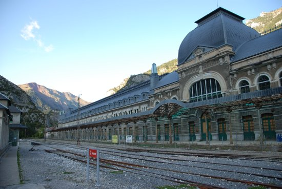 Canfranc, Ισπανία: Les voix en provenance de la France