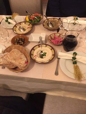 Restaurant la table libanaise dans paris avec cuisine - La table libanaise la fourchette ...