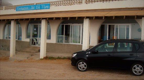 El Cabo de Gata, Spanien: una de las entradas al restaurante