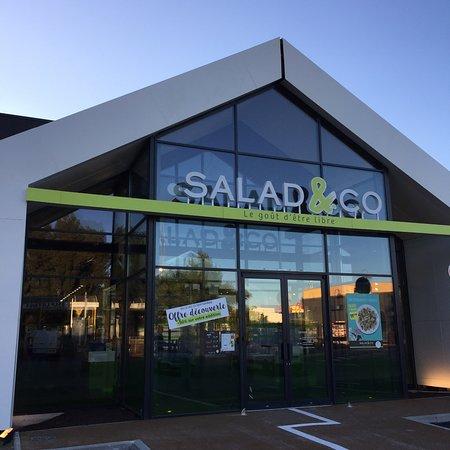 La Valette-du-Var, Frankrike: Façade Salad&Co La valette