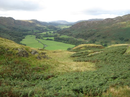 Eskdale, UK: Aspect to west and the coast