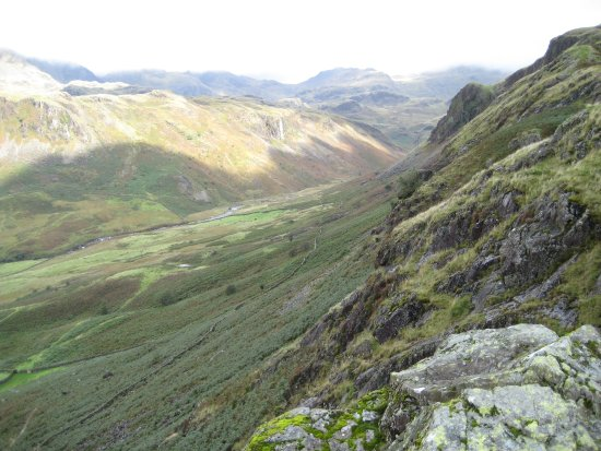 Eskdale, UK: view from North gateway