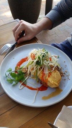 Ewingsdale, Australien: spanner crab omelette