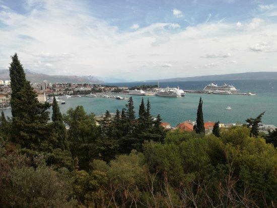 Old Split: Park Marjan