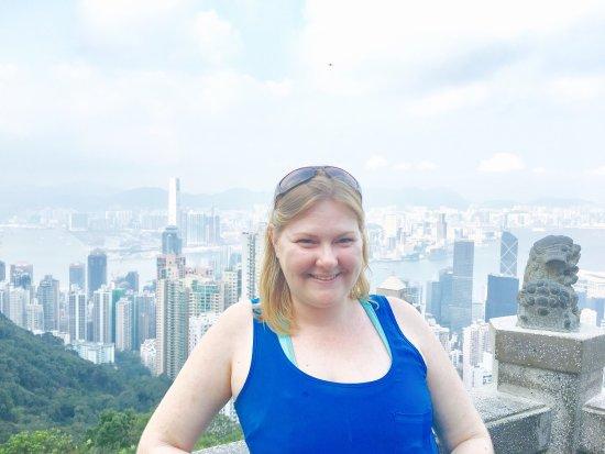 Photo of Victoria Peak (The Peak) in Hong Kong, , HK