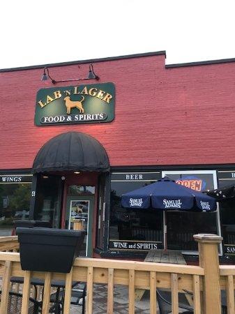 Jaffrey, NH : front door